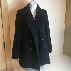 Pendleton woolen pea coat! Navy blue women's xs